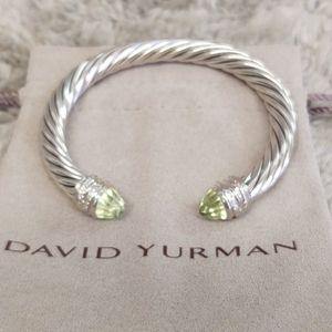 7 mm Lemon citrine David Yurman bracelet